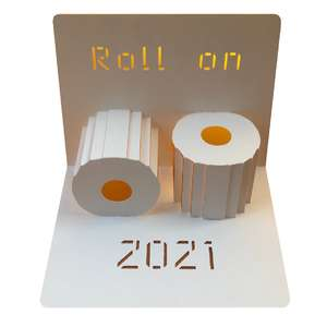 roll on 2021 popup card