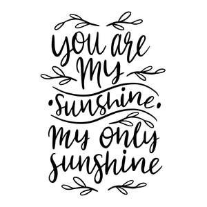 you are my sunshine love quote