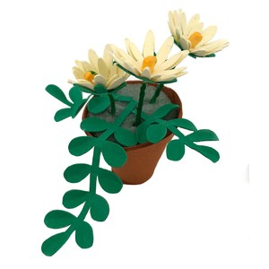 miniature flower pot