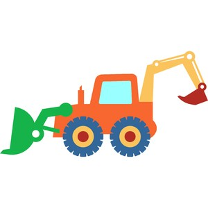 backhoe tractor toy
