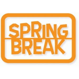 spring break card