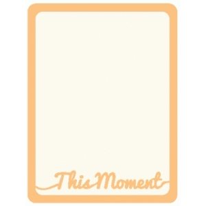 this moment journaling card