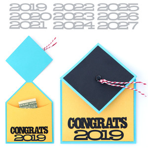 lori whitlock graduation card with pocket