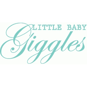 little baby giggles title / phrase