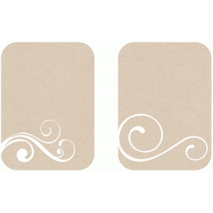 swirl album cards