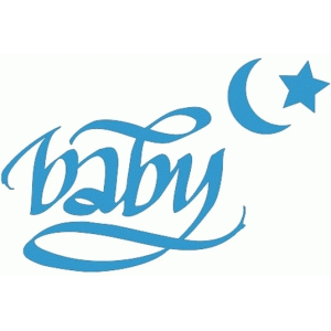 baby and star and moon