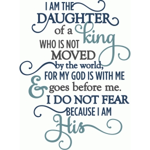i am his daughter - phrase