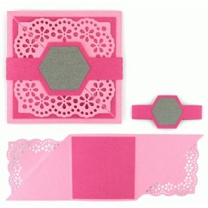 silhouette design store view design 63762 tri fold card square lace