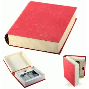 3d book box gift holder