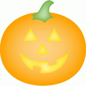 calendar icon - halloween pumpkin