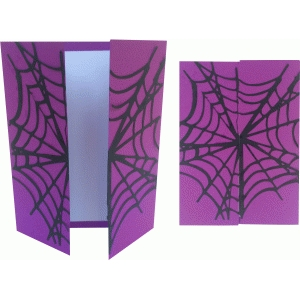 spiderweb card
