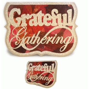 grateful gatherings a6 card