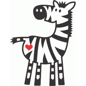 cute zebra love