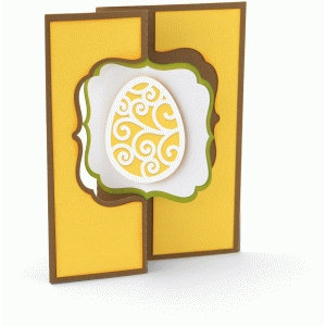 a2 flip swing card easter egg