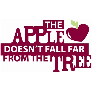 apple doesn't fall far