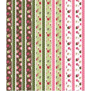 christmas cupcake washi tape planner stickers