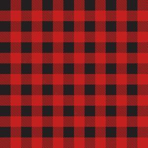 red buffalo check plaid pattern