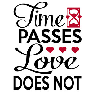 time passes love does not