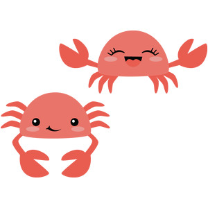sweet crab couple