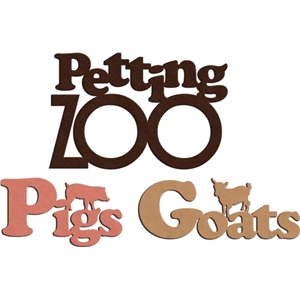 'petting zoo' phrases