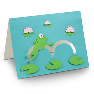 frog motion card