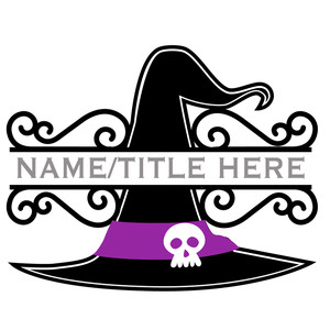 witch hat split title