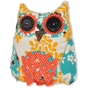 owl fabric sewing pattern