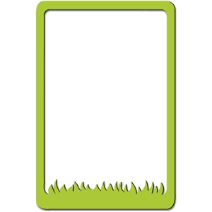 grass photo frame