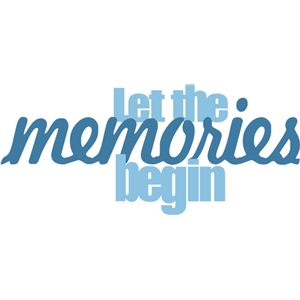 let the memories phrase