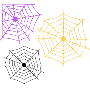 spider web sketch