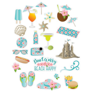 beach 2 planner stickers