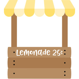 lemonade stand - sweet summer