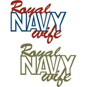 royal navy wife phrase