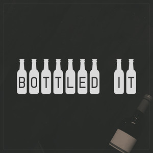 bottled it font