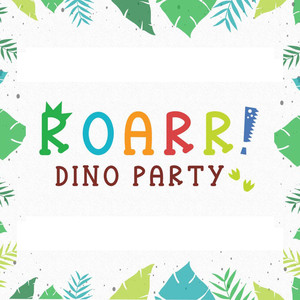 roarr! dino party font