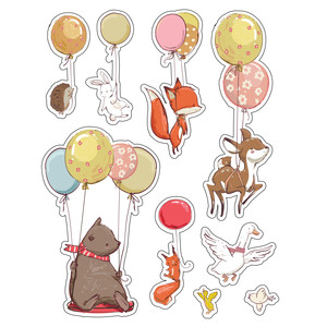 ml balloons stickers