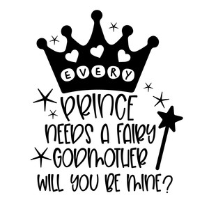 every prince needs a fairy godmother