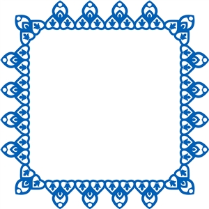 moroccan heart frame 3