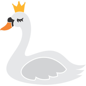 swan and crown