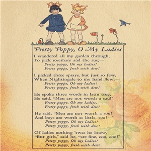 little girls poem