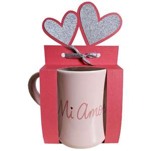 heart mug gift wrapper