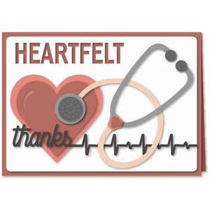 stethoscope heartfelt card