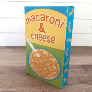 macaroni and cheese play food