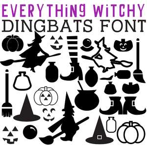 cg everything witchy dingbats