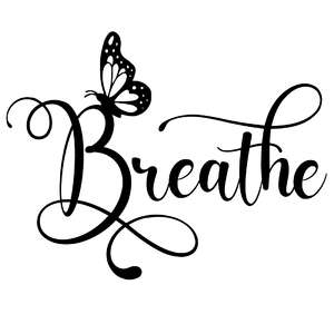 breathe butterfly word