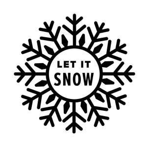 snowflake - let it snow
