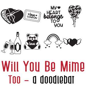 will you be mime - too doodlebat