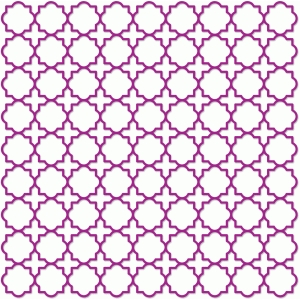 quatrefoil screen