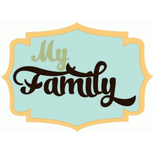 my family label