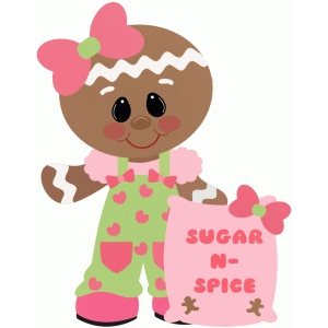 gingerbread girl sugar & spice